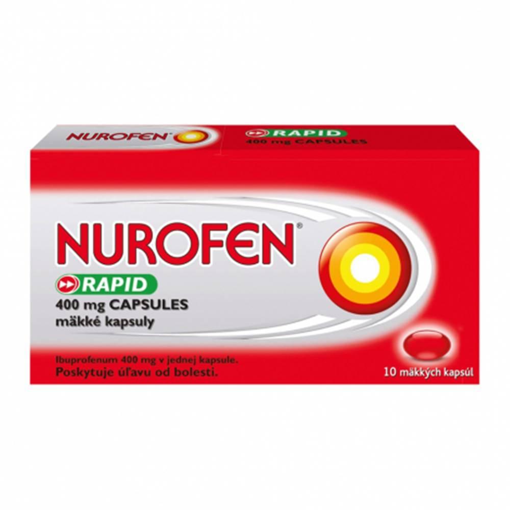 Reckitt Nurofen Rapid 400 mg kapsuly 10 cps
