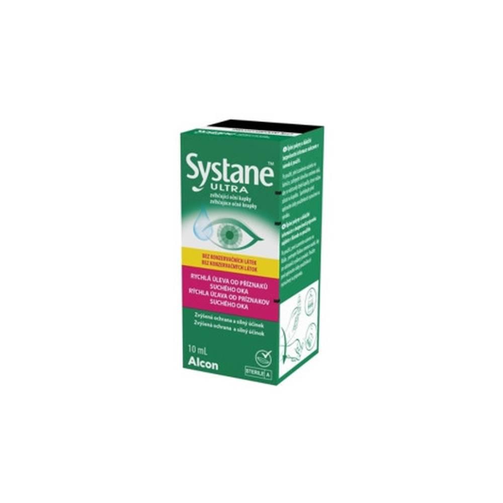 Alcon Pharmaceuticals SYSTANE ULTRA Bez konzervačných látok zvlhčujúce očné kvapky 10 ml