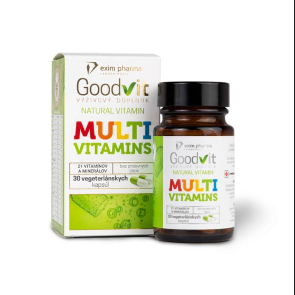 Synergia GOODVIT Natural multivitamins 30 kapsúl