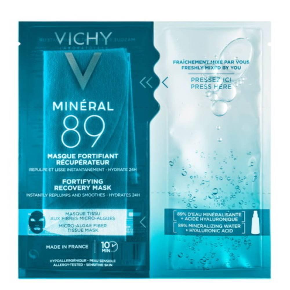 Vichy VICHY Mineral 89 Hyaluron booster pleťová maska 29 g