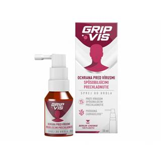 GripVis 1,2 mg/ml sprej do hrdla 20 ml