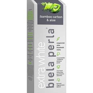 Biela perla - bamboo carbon & aloe, zubná pasta