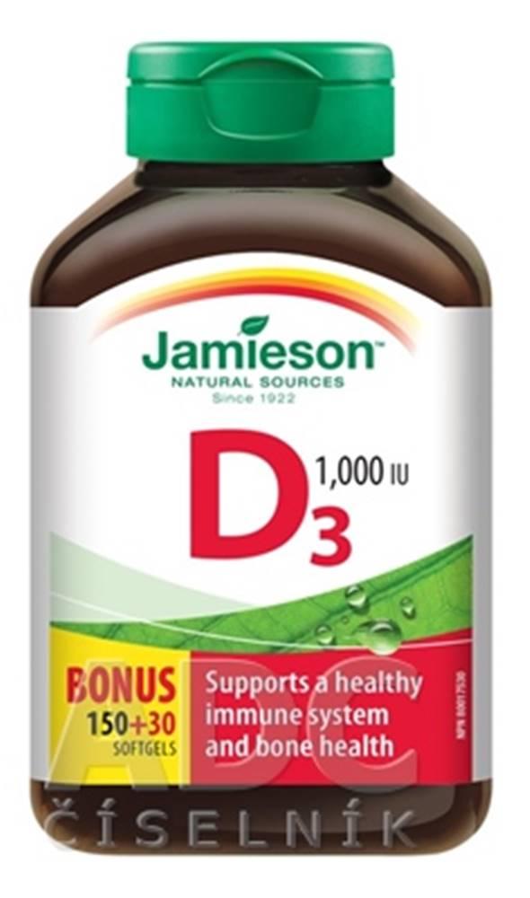 Jamieson Jamieson Vitamín D3 1000 IU kapsuly