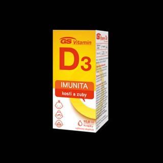GS Vitamin D3 kvapky 10,8 ml