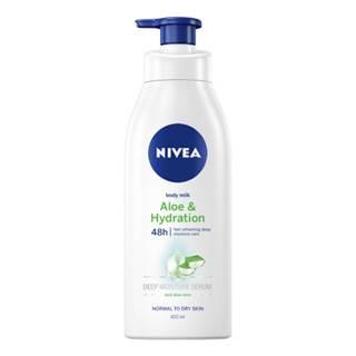 NIVEA Ľahké telové mlieko aloe & hydration 400 ml