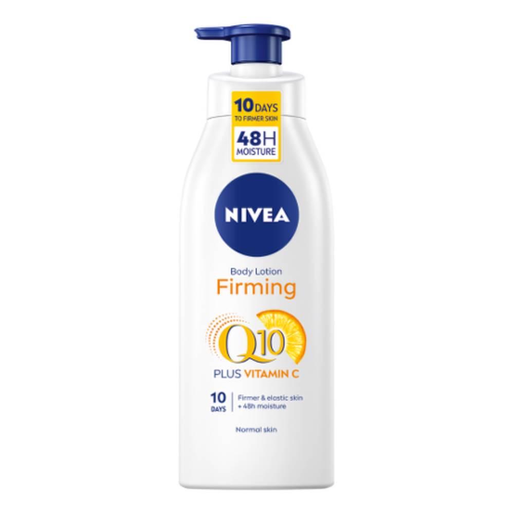Nivea NIVEA Spevňujúce telové mlieko firming Q10 + vitamín C na normálnu pokožku 400 ml