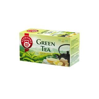 TEEKANNE Green tea ginger, lemon 20 x 1,75g