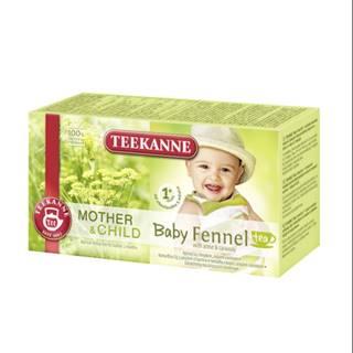 TEEKANNE M&CH Baby fennel tea 1m+ 20 x 1,8 g