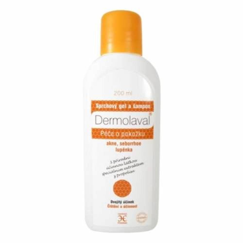 Dermolaval DERMOLAVAL Sprchový gél a šampón 200 ml
