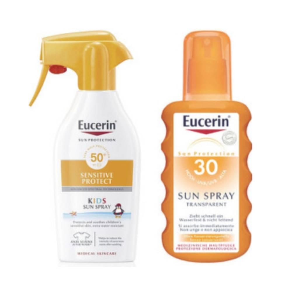 Eucerin EUCERIN Sun sensitive family pack na opaľovanie 1 set