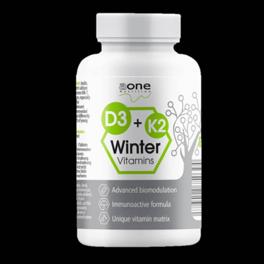 Aone AONE Healthcare vitamín D3 + K2 60 tabliet