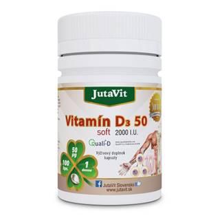 JUTAVIT Vitamín D3 50 soft 100 kapsúl