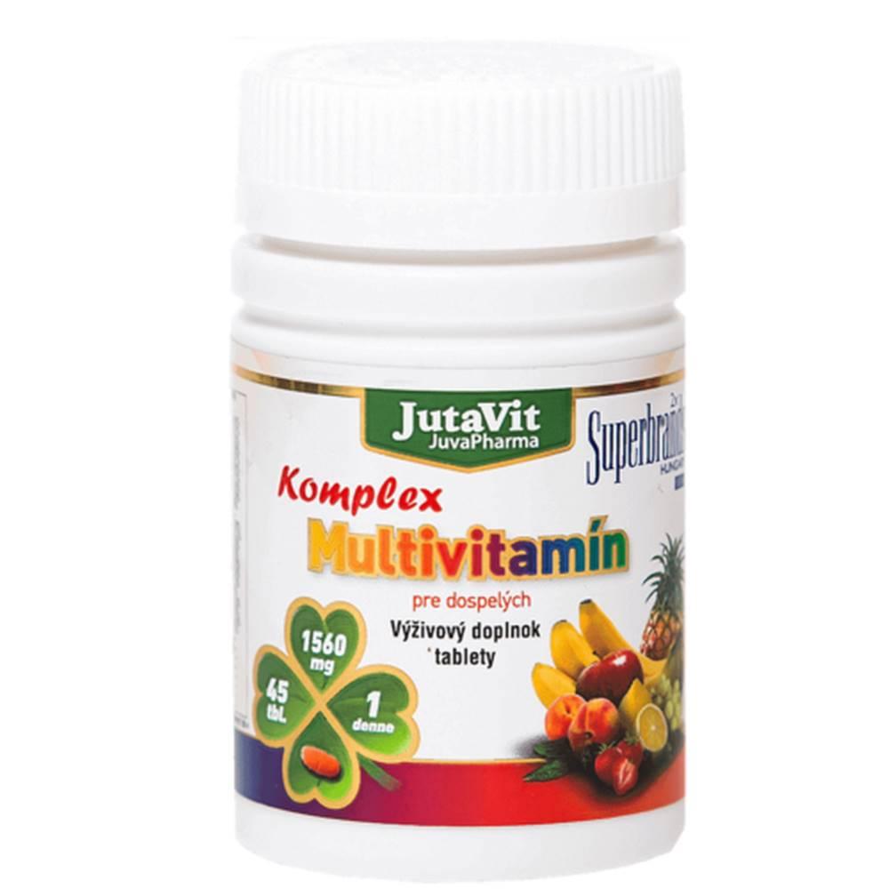 JUTAVIT JUTAVIT Multivitamín komplex pre dospelých 45 tabliet