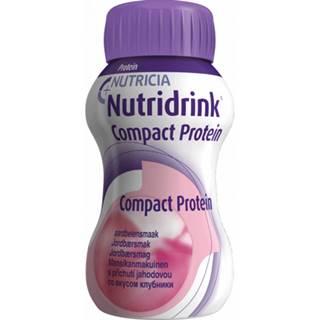 NUTRIDRINK COMPACT PROTEIN s jahodovou príchuťou 24x125 ml