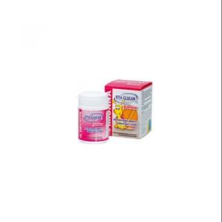 VITAGLUCAN Junior imunita s vitamínom C a ženšeňom 40 tabliet