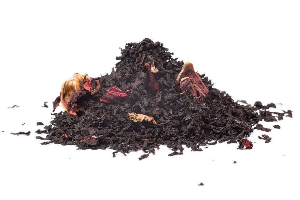 Manu tea VIŠNE V RUME - čierny čaj, 10g