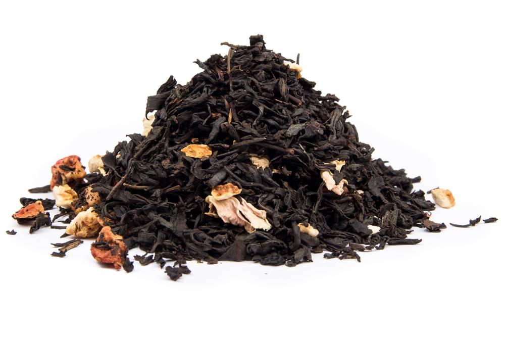 Manu tea JAHODOVÝ CHEESECAKE BIO - čierny čaj, 10g