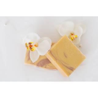 Prírodné nechtíkové mydlo s lanolínom a kozím mliekom 110g