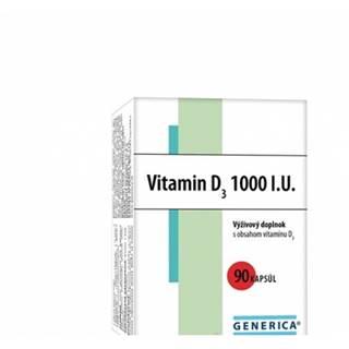 Generica Vitamin D3 1000 I.U. 90 cps