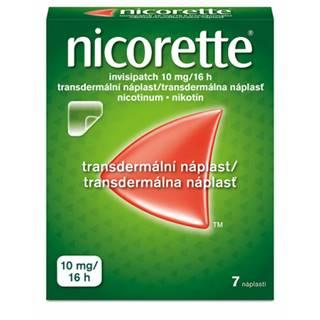 Nicorette Invisipatch 10 mg/16h emp.tdm.7 náplastí