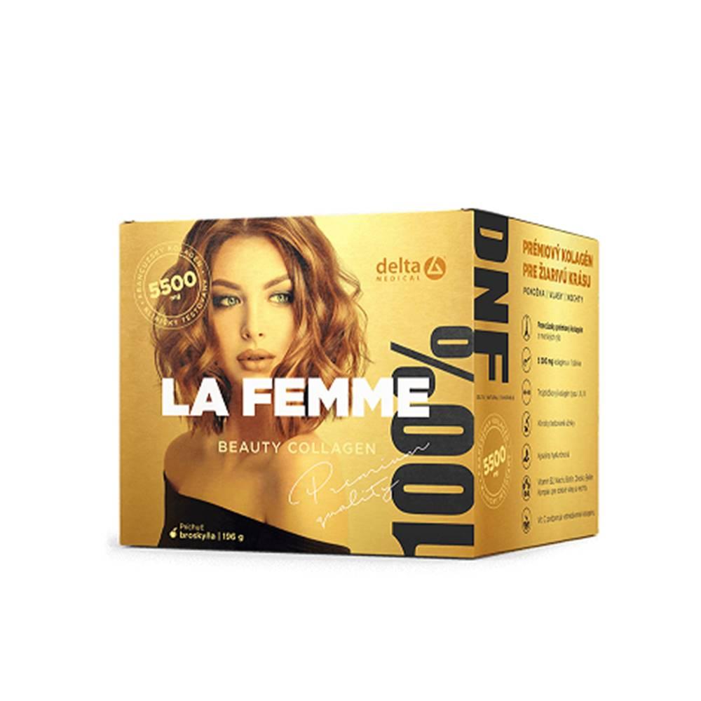 Delta La Femme Beauty Collagen 5 500 mg prášok s príchuťou broskyňa 196 g