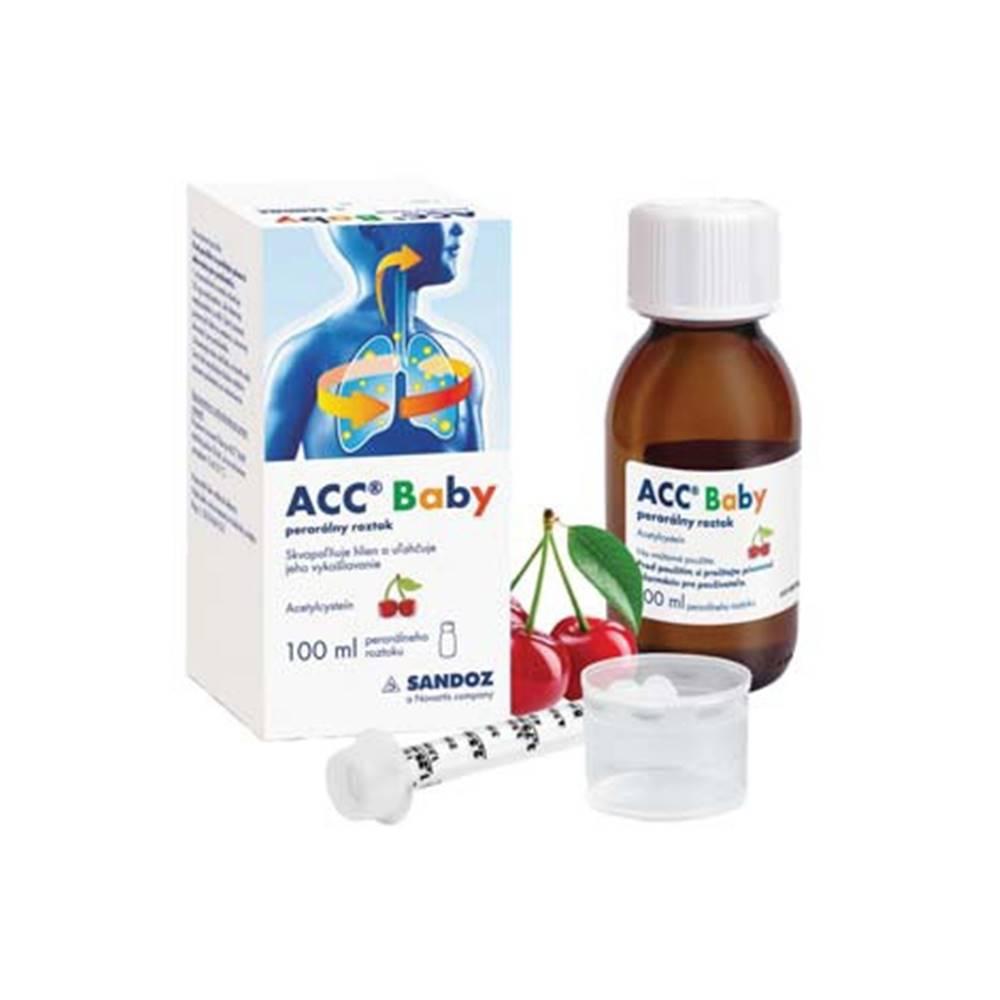 ACC Baby perorálny roztok 100 ml