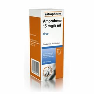 Ambrobene 15 mg / 5 ml sirup 100 ml