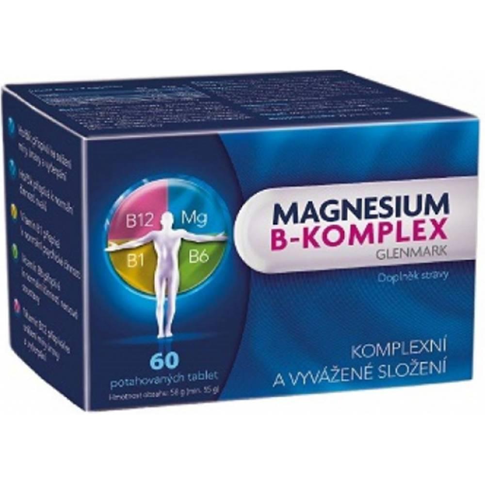 Magnesium B-komplex Glenmark 60 tbl