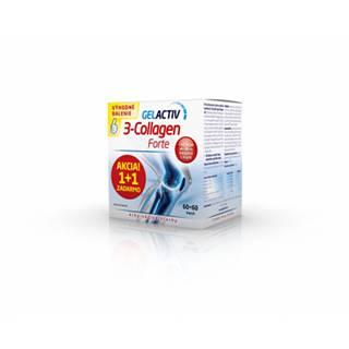 GelActiv 3-Collagen Forte Darčekové balenie 60+60  cps
