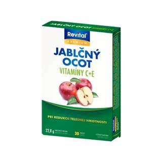 Revital Jablčný ocot s vitamínom C a E 30 tbl