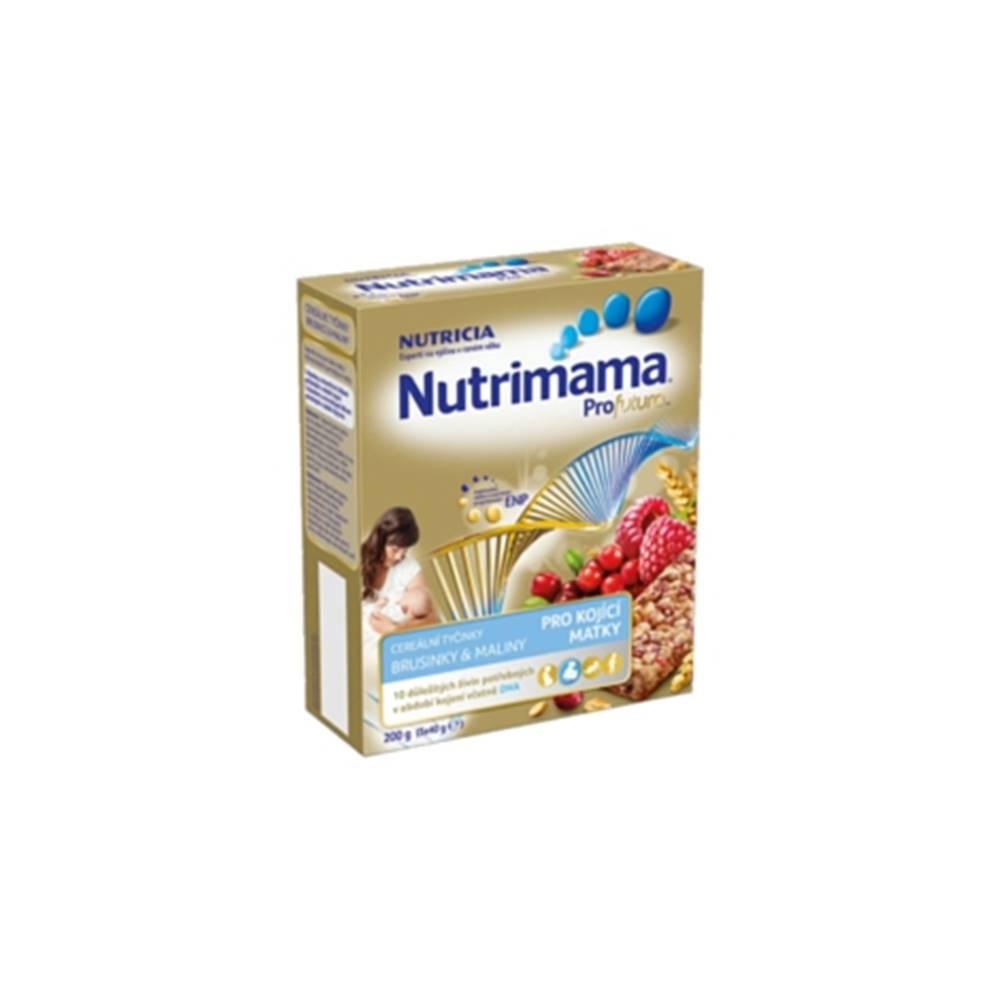 Nutrimama Profutura cereálne tyčinky Brusnice & Maliny 200g (5x40g)