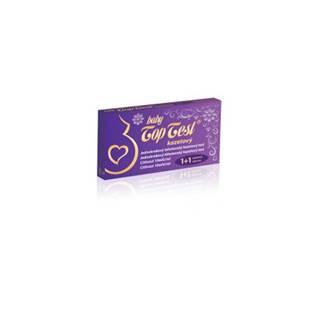 Baby Top Test tehotenský kazetový jednokrokový (1+1 zadarmo), 1x2 ks