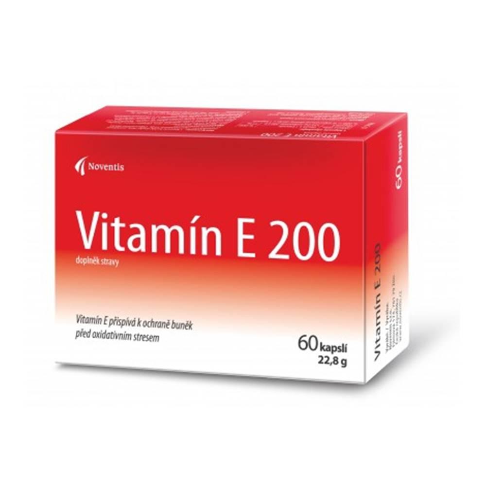 Noventis Vitamín E 200 mg 60 cps