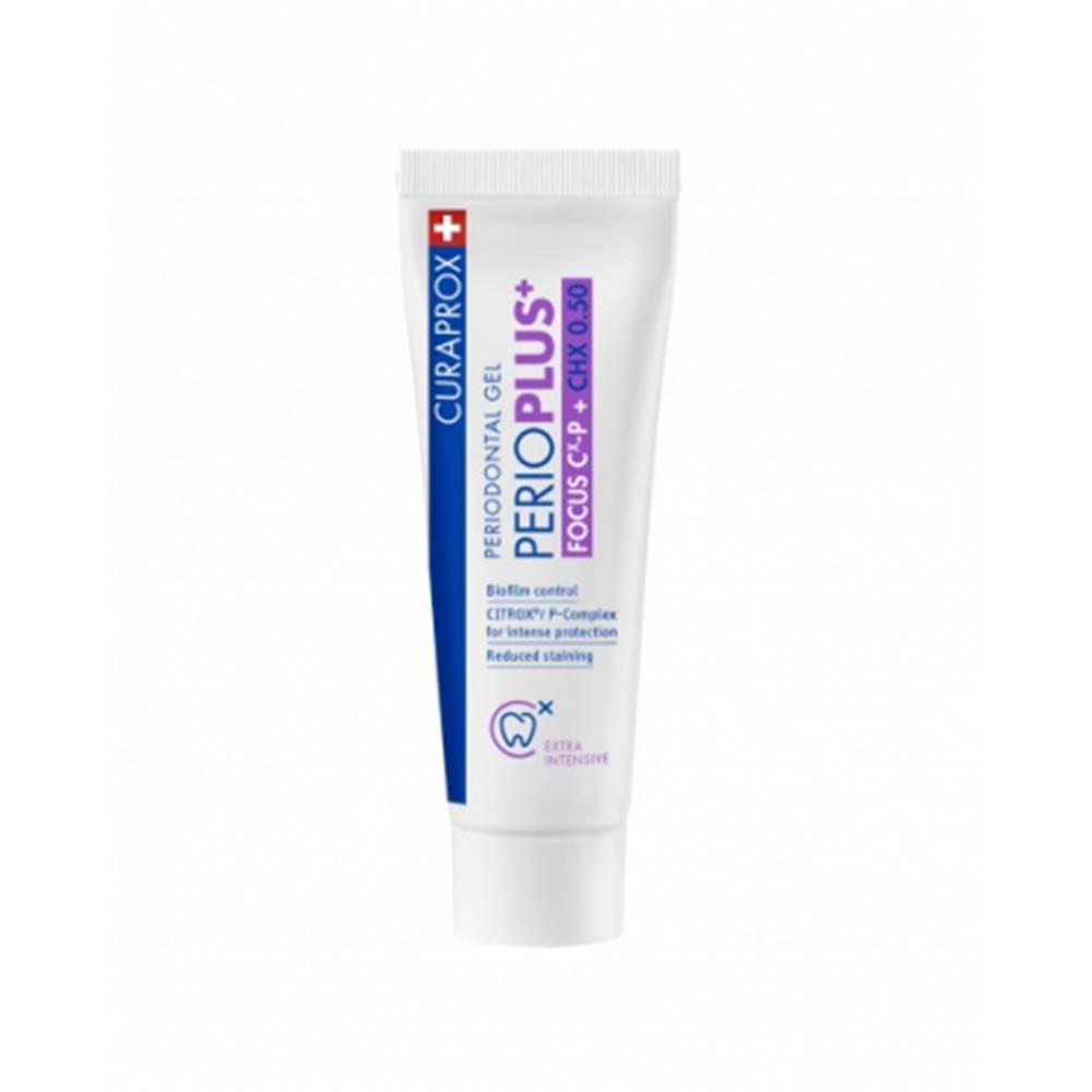 CURAPROX Perio Plus Focus CHX 0,50 % zubný gél 10 ml