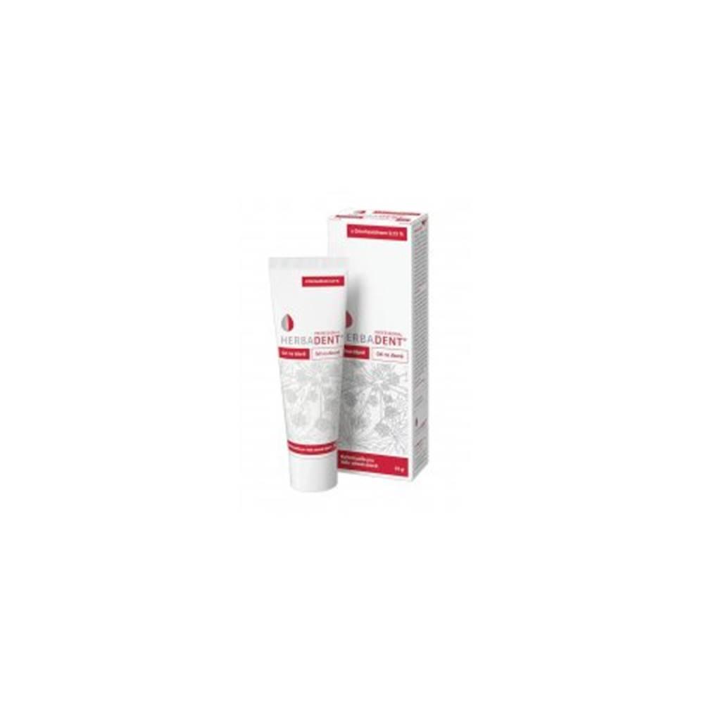 Herbadent Professional gél na ďasná s chlorhexidinom 35g