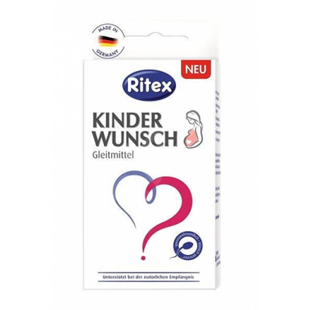 Ritex Kinderwunsch Lubrikant pre plánované otehotnenie 8x4 ml