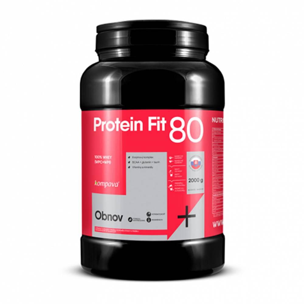 KOMPAVA ProteinFit 80 banán 66 dávok