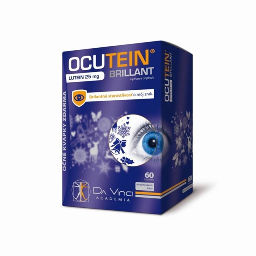 Ocutein OCUTEIN BRILLANT Luteín 25 mg - DA VINCI