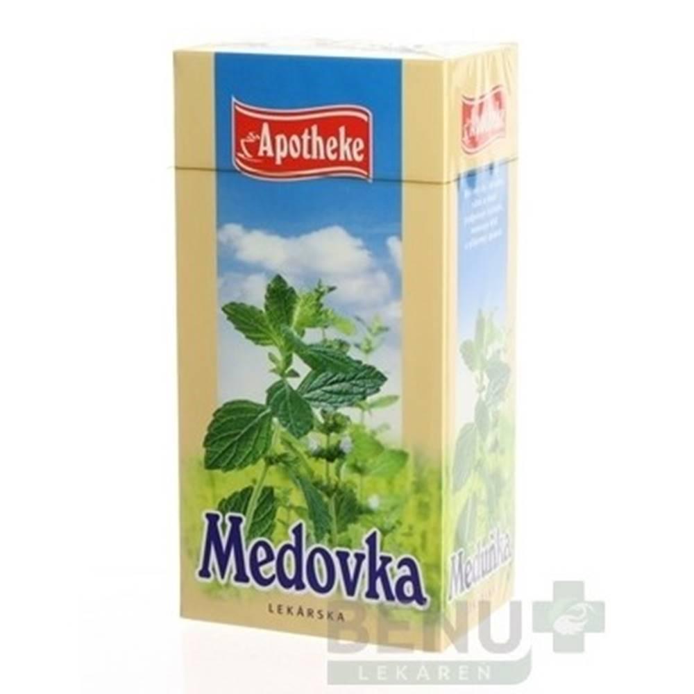 Apotheke APOTHEKE Čaj medovka lekárska 20 x 1,5 g