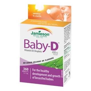 JAMIESON BABY-D3 VITAMÍN D3 400 IU KVAPKY gtt 11,7ml