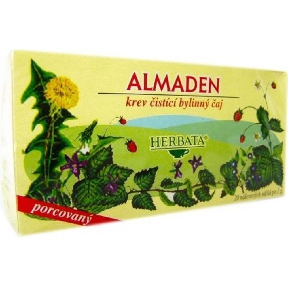 Herbata HERBATA Almaden čistiaci čaj 20 x 1g