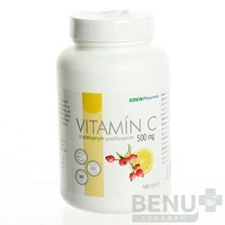 EDENPHARMA Vitamín C 500 mg 100 tabliet