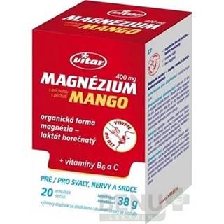 VITAR Magnézium 400 mg + vitamíny B6 a C 20 vrecúšok