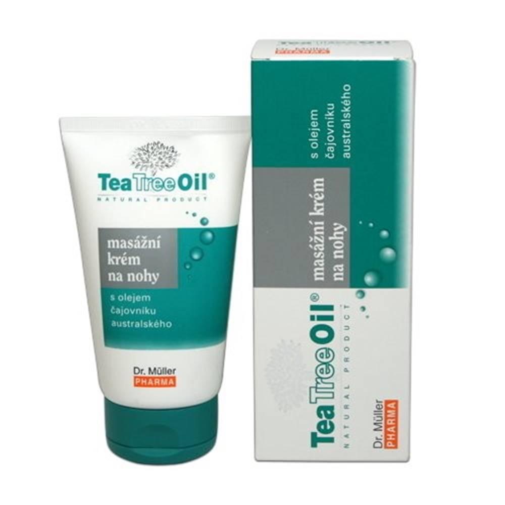 DR. MÜLLER DR. MÜLLER Tea Tree oil masážny krém na nohy 150 ml