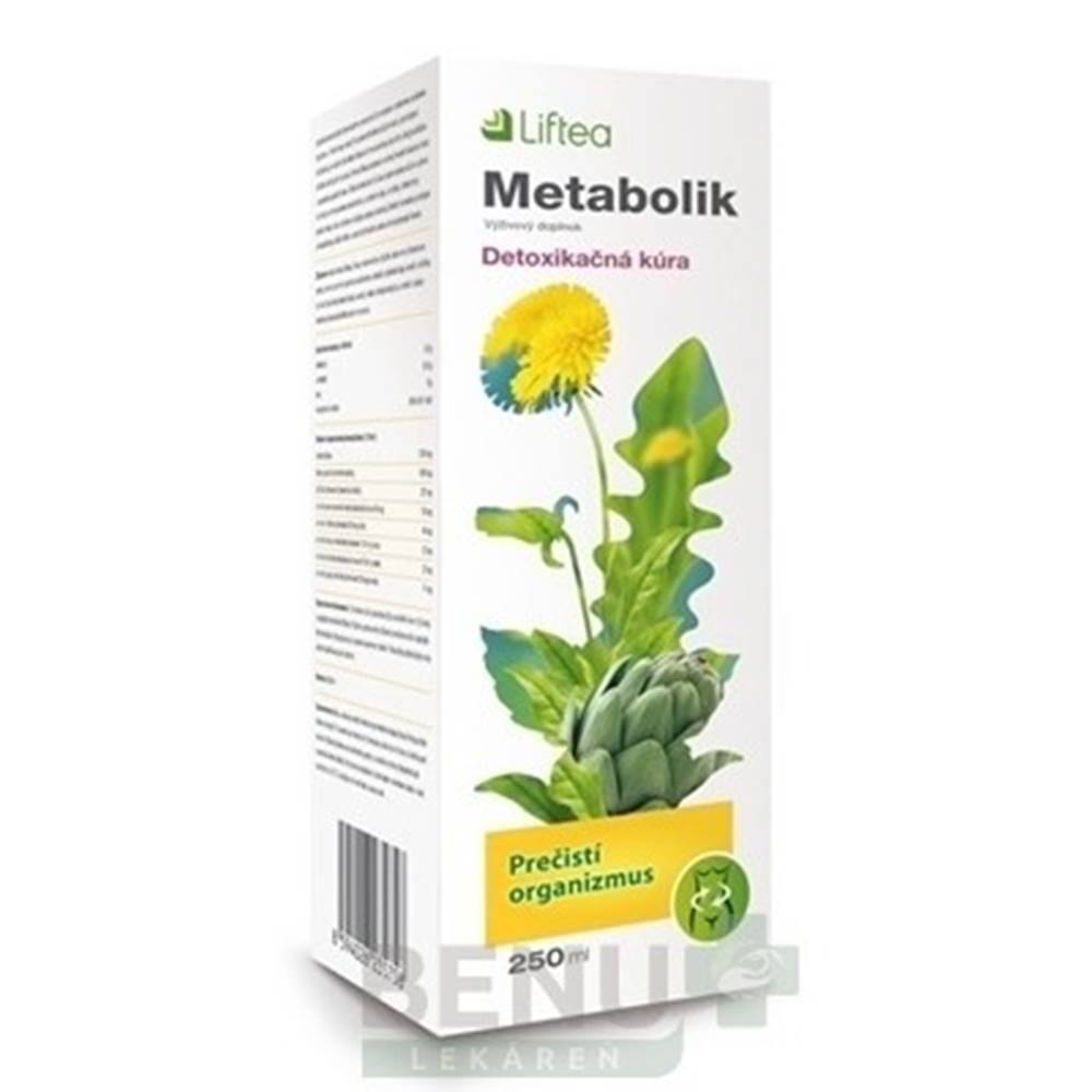 Liftea LIFTEA Metabolik 250ml