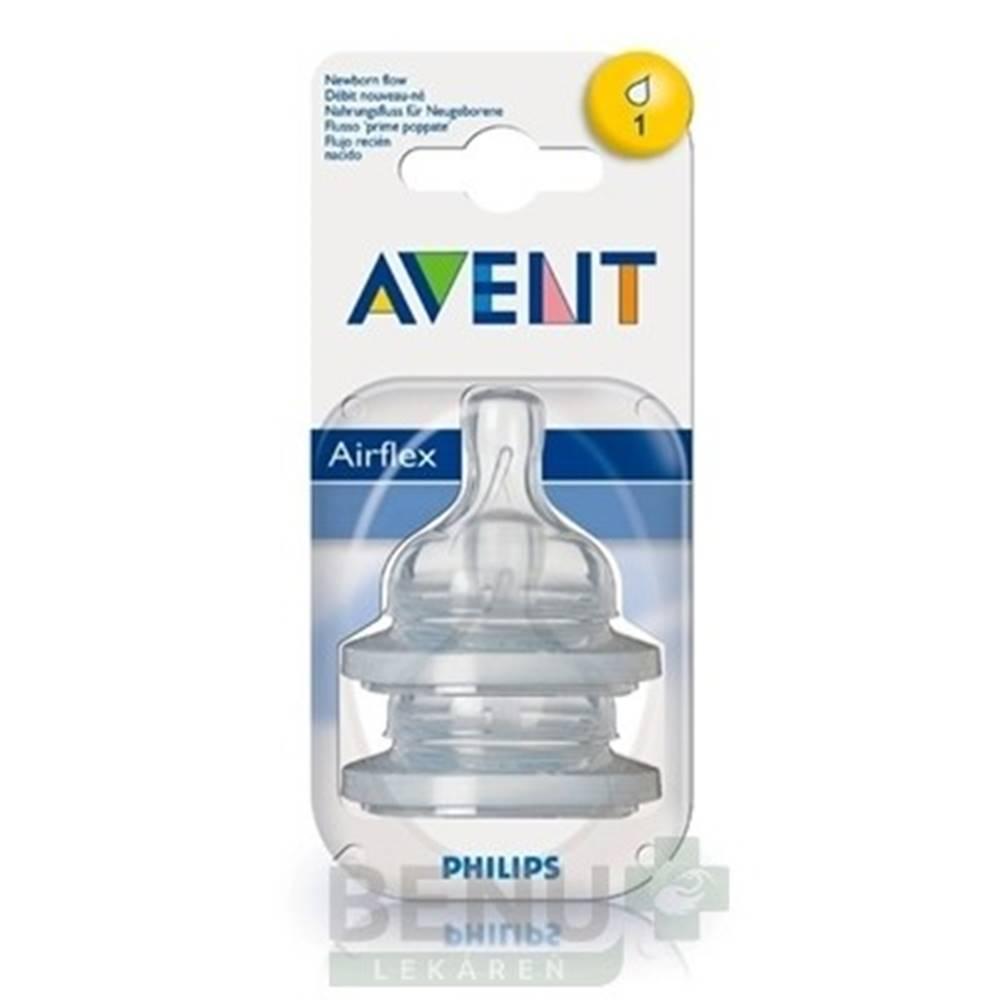Avent AVENT Cumlík na fľašu Klasik 0-3m 2 kusy