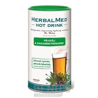 DR. WEISS HERBALMED Hot drink kašeľ a priedušky 180 g
