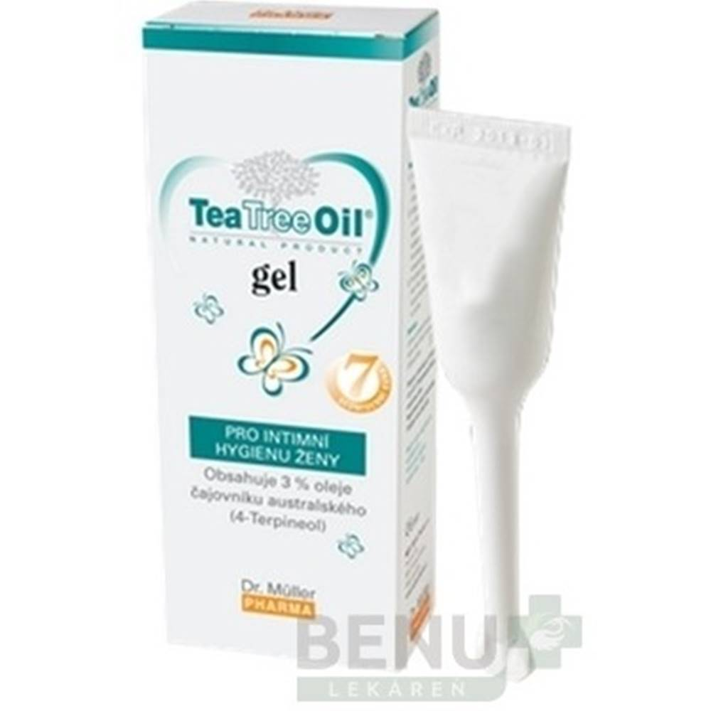 DR. MÜLLER DR. MÜLLER Tea Tree Oil gél pre intímnu hygiénu 7x7,5 ml