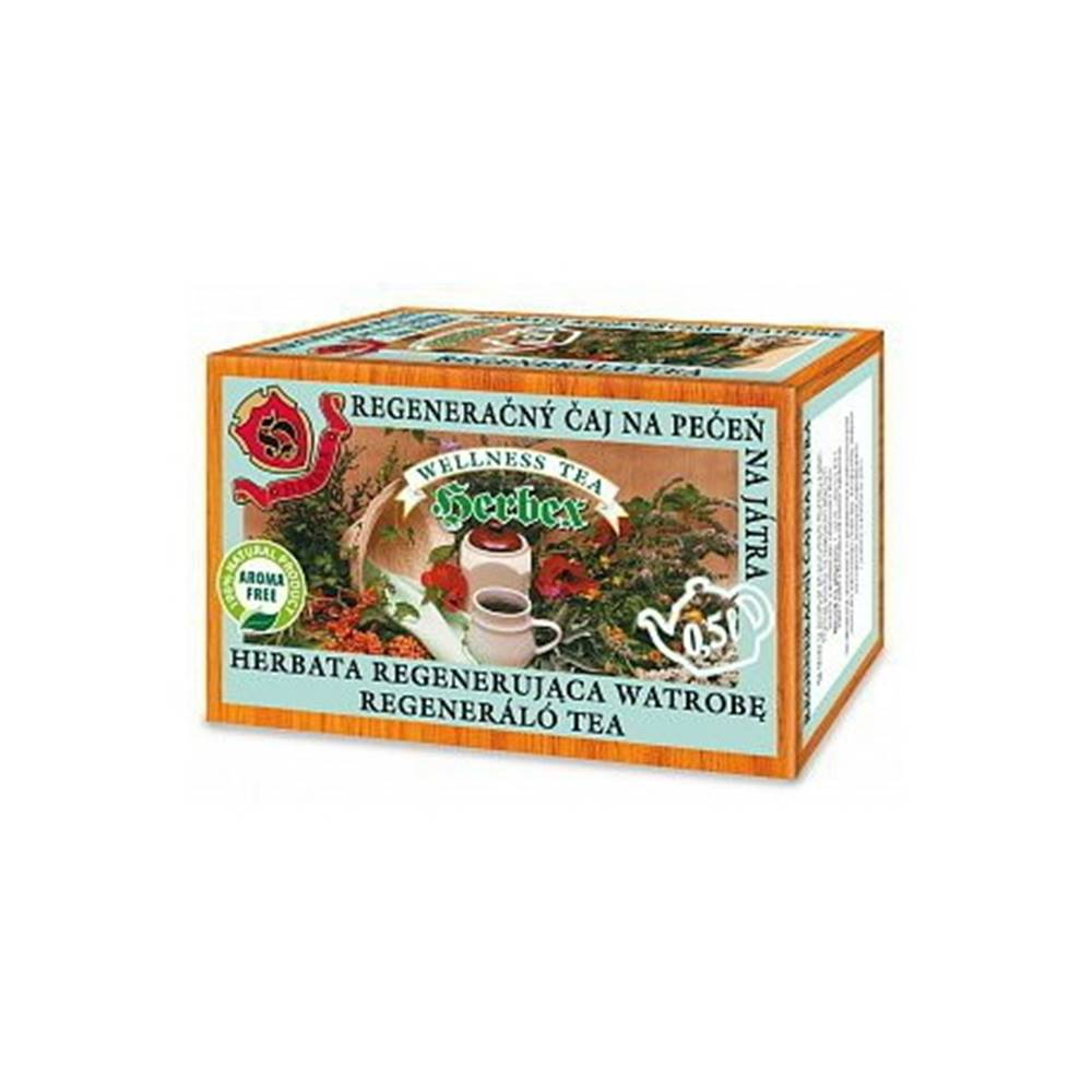 Herbex HERBEX Regenerečný čaj 20 x 3g