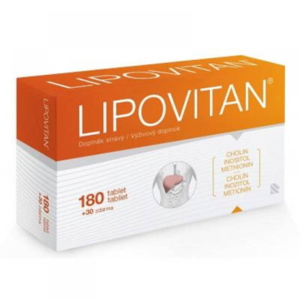Lipovitan LIPOVITAN 180 + 30 tabliet